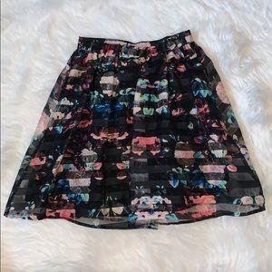 Xhilaration Skirts - Floral skirt